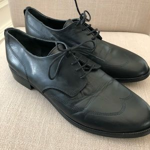 Levi's Mens Leather Wing Tip Oxford Dress Shoes 10
